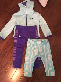 2T Under Armour jacket and leggings Gaithersburg, 20878