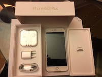 NEW condition iPhone 6s Plus 16gb w/all accessories  Burnaby, V5B