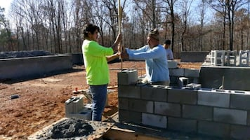 G1 Masonry block foundation