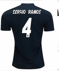 Real Madrid Sergio Ramos Jersey 2018-19 Vaughan, L6A 2S6