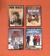 DVDs RON WHITE and BLUE COLLAR COMEDY TOUR - 4 pcs. Sugar Land, 77479