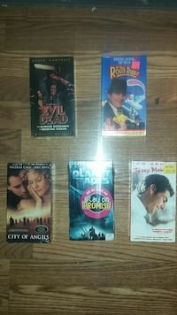 5 brand new vhs still in the package  Langley Township, V4W 3P6