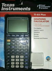 NEW GRAPHING CALCULATER BY TEXAS INSTRUMENTS WILL DELIVER