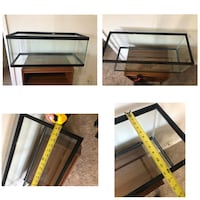 Clear glass fish tank with black frame Pleasant Hill, 50327