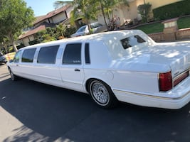 1996 Lincoln Town Car, 10 passenger limo, good condition, always garaged, light use