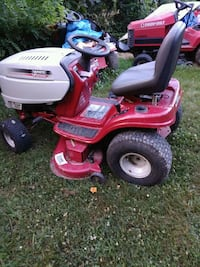 red and black ride-on mower Radford, 24141