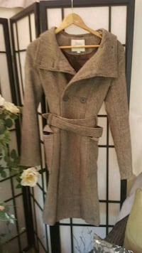 Trench style Ladies size small jacket coat Whitby