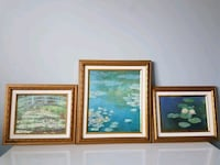 3 reproductions de Monet  Terrebonne, J6Y 0A5