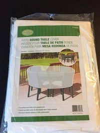 Brand new patio round table cover