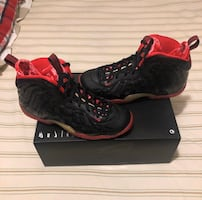 "Nike Air Foamposite ""vampire"""