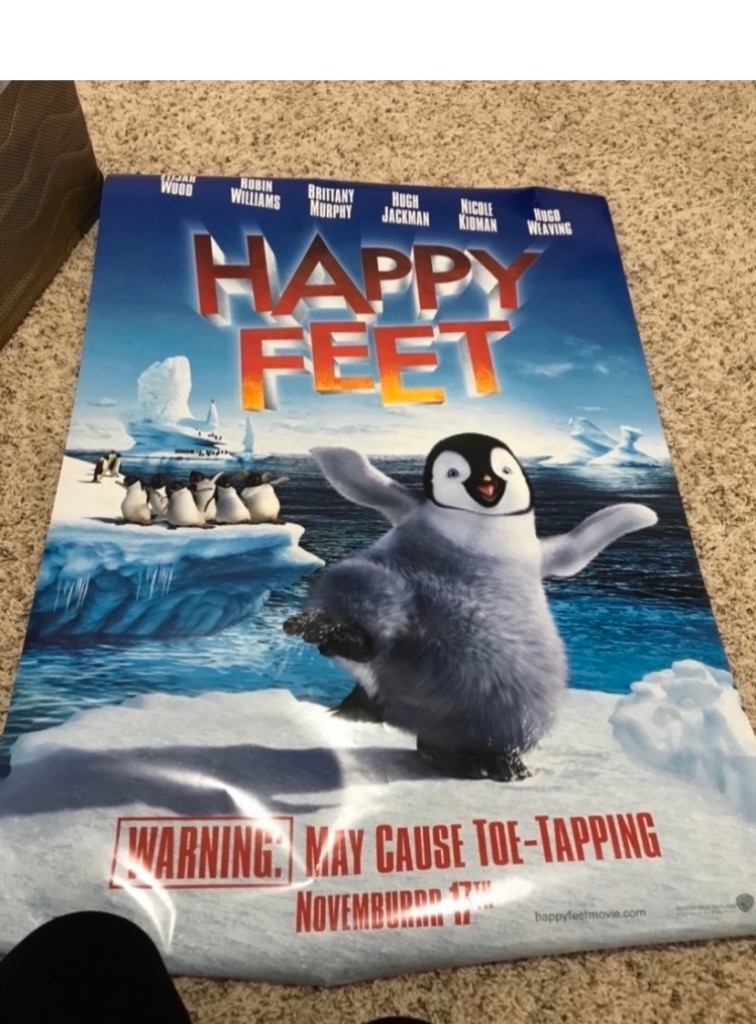 Photo Happy feet poster
