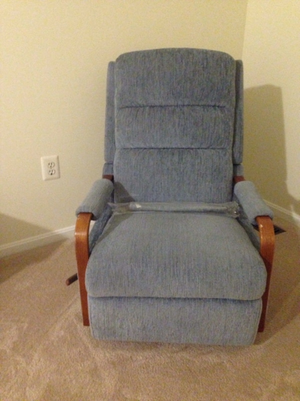 New Blue Rocking chair