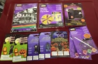 Halloween Crafts, Games, and More For Sale - New, Sealed Burlington