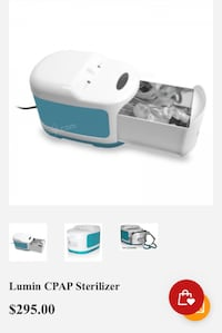 New CPAP Sterilizer for sale $100 Firm  Brampton, L6Z 1R8