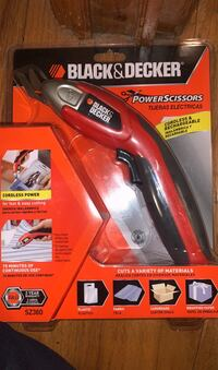 Black and decker power scissors   Have 2