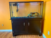 COMPLETE 60 GALLON AQUARIUM SETUP- TANK AND STAND Happy Valley, 97086
