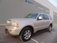 2005 Lincoln Aviator AWD 7 passenger AUTOMATIC FULLY LOADED JUST MINT! 3736 km
