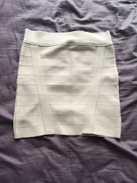 women's white skirt