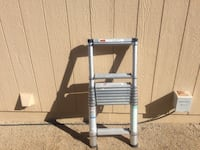 10.5 telescoping aluminum ladder. Great for RV or wherever space is a problem  Sun Valley, 89433