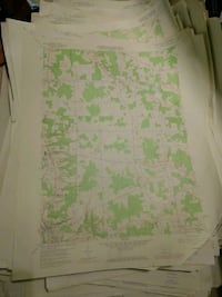 Lot of USGS Topo Maps from Pennsylvania