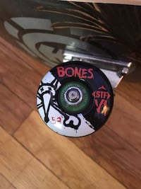 Black and grey bones skateboard wheels Winnipeg, R3J 2P1