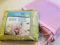 Breathable Baby Classic Mesh Crib Liners (Pink or Green) Virginia Beach, 23455