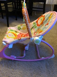 Baby infant vibrating  rockers and bouncer San Ramon, 94582