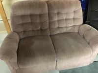Reclining couch and love seat  Vaughan