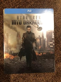 Star Trek Into Darkness BluRay new with collector's tin!