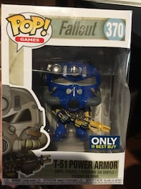 Fallout T-51 Power Armor Funko Pop #370 Best Buy Exclusive  Santa Ana, 92703