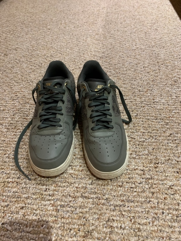 Air Force 1 07' Dark Stucco and River Rock SIZE 9.5 US 5a0f8bd8-77d0-4c89-8db6-da49cfad2153