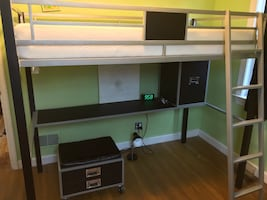 LeClair Twin Loft Bed (mattress not included)