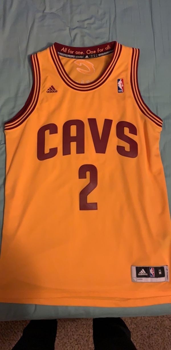 separation shoes 87a3a f6c28 Authentic Kyrie Irving Cavs Jersey