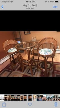 brown wooden dining table set Manchester, 08759