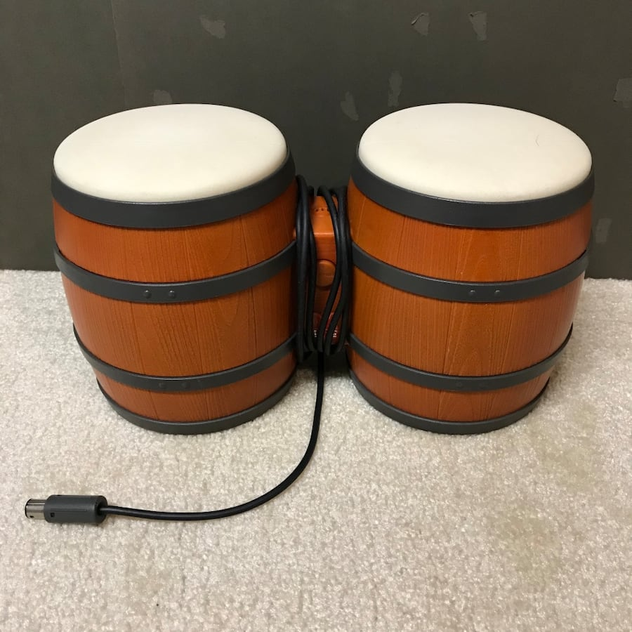 Nintendo Donkey Kong bongos for gamecube video game system console toy