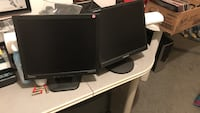 2 Samsung computer monitors for sale Markham, L3T 6R8