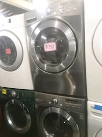 LG front load washer and dryer set excellent condi 46 mi