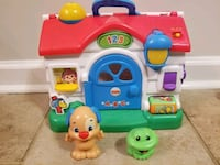 Fisher price learning home Williamsburg, 23185