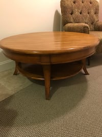 Coffee Table 44 in. Diameter x 19 in. High Stoneham