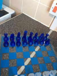 blue and white chess board Solihull, B90