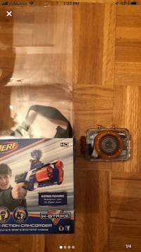 Nerf action camera for kids  Laval, H7E 5L2