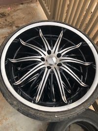22' rims and tires