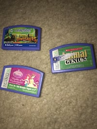 leapster games lot of 3 used games Jonestown, 17038