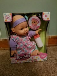 New In Box - baby doll Munster