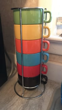 Stackable coffee cups-World Market