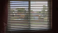 4 feet wide by 3 feet long just for this window but we didn't take the bottom blinds out so it really extends to Melrose Park