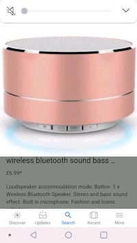 white and gray portable speaker Bakersfield, 93304