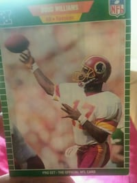 Doug Williams trading card Charlotte, 28273
