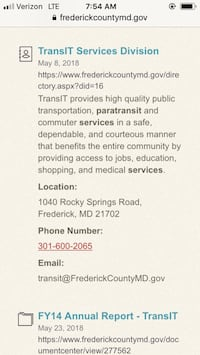 transportation needed for wheelchair MS person Middletown, 21769