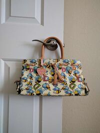 Dooney & Bourke Bee Print Small Satchel Alexandria, 22309